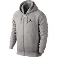 Jordan Jumpman Brushed Zip-Hoody Grau