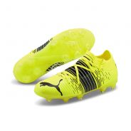 Puma Future Z 2.1 FG/AG Jr. Fussballschuh Black Yellow Alert
