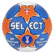 Select Ultimate 2 Handball Orange/Blau/Weiß