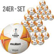 24er SET - Molten UEFA Europa League - offizieller Wettspielball 2020/21