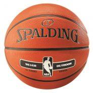 Spalding NBA Silver Outdoor Basketball Kids
