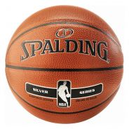 Spalding NBA Silver Indoor/Outdoor Basketball Kids