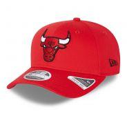 New Era Snapback 9FIFTY Stretch Snap Chicago Bulls - Rot