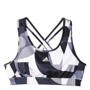 Adidas Training Bra Girls Schwarz-Weiss