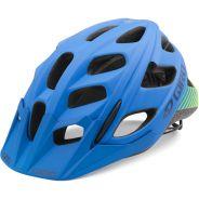 Giro Hex Mat Blue-Lime 18 Herren Helm