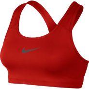 Nike Classic Swoosh Bra Rot