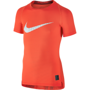 Nike Cool HBR Compression Kids Shirt Orange