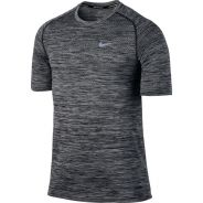 Nike Dri-FIT Knit Herren Tee Shirt Grau