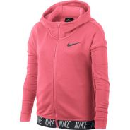 Nike Dry Trainings Hoodie Kinder Pink