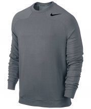 Nike Touch Fleece Crew Herren Grau