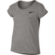 Nike Trainings Shirt Grau Kids