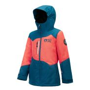 Picture Leelo Kinder Jacke 2019 Petrolblue