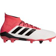 Adidas Predator 18.1 FG Weiss-Rot