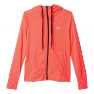 Adidas Prime FZ Hoody Orange Damen