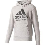 Adidas Branded Hoody Grau Herren