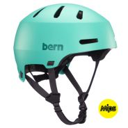 Bern Macon 2.0 MIPS Skatehelm Matt Mint