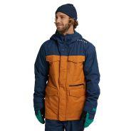 Burton Covert Jacke für Herren Blau Orange