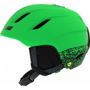 Giro Nine Mips Helm Mat bright green