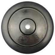 Gummierte Ø 30mm Gewichtsscheibe 20 kg