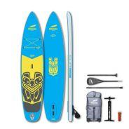 INDIANA 10'2 Groms Pack Aufblasbares SUP Board für Jugendliche mit 3-teiligem Carbon/Glasfaser Paddel