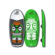 INDIANA Wing Foil Hardboard 128 Carbon White/Green