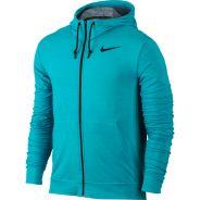 Nike Dri-Fit Training Fleece FZ Hoody Türkis