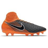 Nike Magista Obra II Pro DF FG Grau-Orange