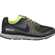 Nike Air Zoom Pegasus 34 Shield GS Schwarz