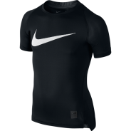 Nike Cool HBR Compression Kids Shirt Schwarz