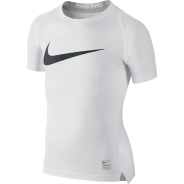 Nike Cool HBR Compression Kids Shirt Weiss