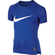 Nike Cool HBR Compression Kids Shirt Blau