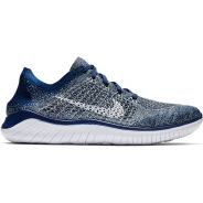 Nike Free RN Flyknit 2018 Blau-Weiss