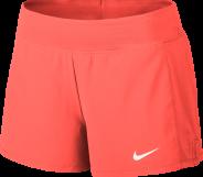 Nike Court Flex Pure Damen Tennis Shorts Koralle