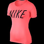 Nike Pro Top Damen Shirt Pink
