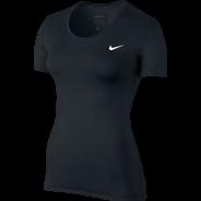 Nike Pro Top SS Damen Shirt Schwarz