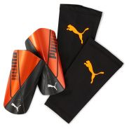 PUMA ftblNXT TEAM sleeve Schienbeinschoner schwarz orange