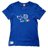 Puma Italien Damen Love Football Country T-Shirt
