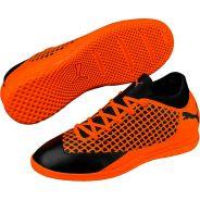 Puma FUTURE 2.4 NETFIT IT Jr Schwarz Orange