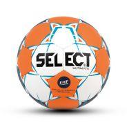 Select Ultimate Handball Rot-Türkis-Weiß