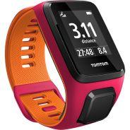 TomTom Runner 3 Uhr Pink-Orange