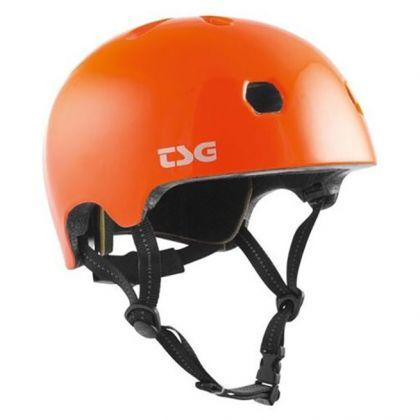TSG META Skatehelm - Gloss Orange
