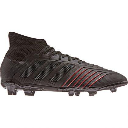 Adidas Predator 19.1 FG J Schwarz Rot | Trends Sport