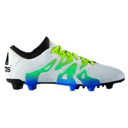 Adidas X 15.1 FGAG Weiß Grün Blau | Trends Sport