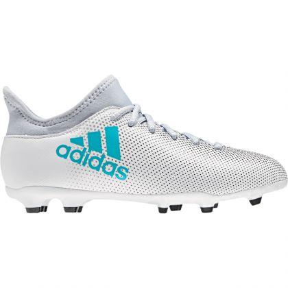 Adidas X 17.3 FG J Weiß Blau | Trends Sport