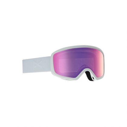 Anon Deringer Sonar Brille in White/Sonarpink