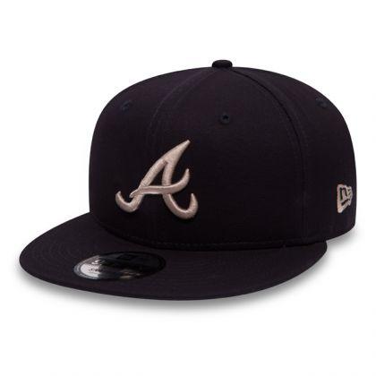 New Era 9Fifty Atlanta Braves Cap Navy