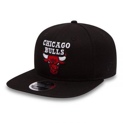 New Era 9Fifty Chicago Bulls Cap Schwarz