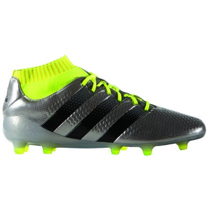 differently 0744a a064e Zoom Adidas Ace 16.1 Primeknit FG Silber-Gelb
