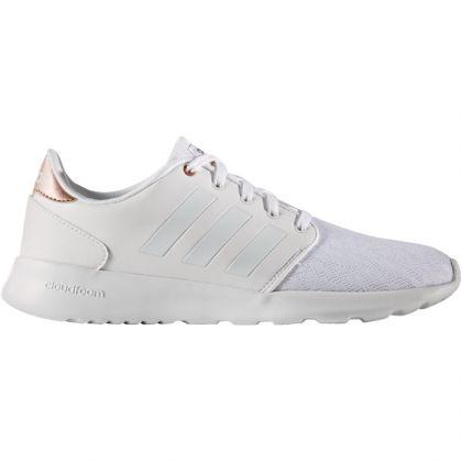 Adidas Cloudfoam QT Racer W Weiss | Trends Sport