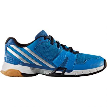 the latest e0127 9d38b Zoom Adidas Volley Team 4 Blau